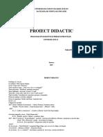 Proiect an II