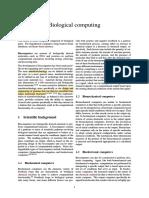 Biological Computing