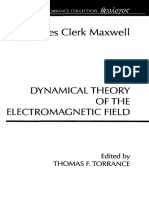 The Dynamical Theory Of The Electromagnetic Field - J C Maxwell (Wipf And Stock Publishing).pdf