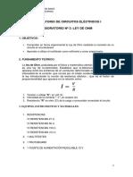 Laboratorio 3 - Circuitos Eléctricos