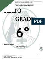 6 to Grado º Vacacional Simulacro-Formato-201722ss