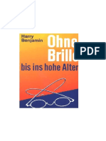 Ohne Brille Bis Ins Hohe Alter - Harry Benjamin
