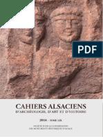 L'agglomération romaine d'Horbourg-Wihr (France, Haut-Rhin). Carte archéologique et synthèse thématique