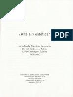 2016 Introducción Arte Sin Estética