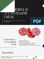 Leucemia e a Cavidade Oral