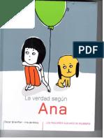 La verdad según Ana