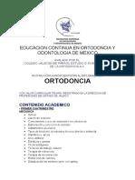 triptico ortodoncia