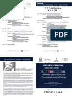 Programa encuentro Oswaldo Paya