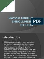 NWSSU Mobile Enrollment System