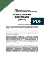 Sindicalismo Del Bicentenario - Serie Completa (Las 6 Partes Juntas)-1