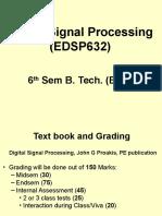 Edsp632 Dsp Intro l1