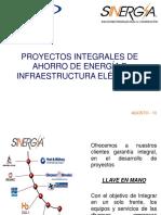 Soluciones Integrales de Ahorro de Energia e Infraestructura Eléctrica