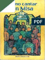 SÃ_nchez Gil, Blanca - Como Cantar en Misa