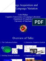 Language Acquisition and