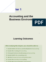Chap 1 - Introduction to Accounting