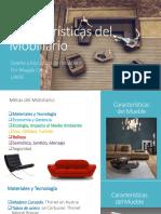 Características Del Mobiliario 2017