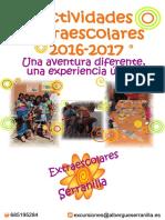Actividades Extraescolares 2016 2017