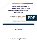 Performance assessment of graphene-based lateral and vertical heterostructure transistors