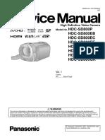 Panasonic Hdc-sd800 Sm