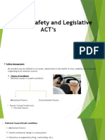 Industrial Safety and Legislative ACT's