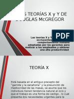 Las Teoras x y y de Douglas Mcgregor