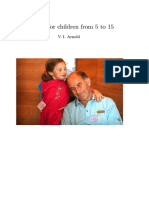 Vladamir Arnold's Problems From Children Ages 5-15