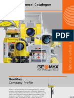 GeoMax General Catalogue 2009 2010