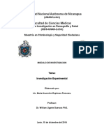 Investigaciu00F3n Experimental