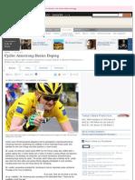 Landis vs Armstrong - Wall Street Journal