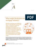 Pwc Financial Services Qa Blockchain in Mortgage