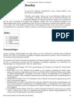 Fenomenología (Filosofía) - Wikipedia