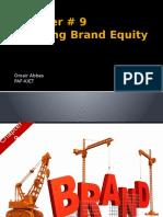 Brand Equity, CH09