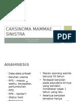 Dona-Carsinoma Mammae Sinistra