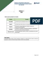 Criterios -Priorizar Desafíos y Alternativas