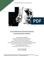 El Dictamen en Evaluación Psicólogica de La Tortura
