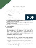 API 6D - Ensaios de Válvulas.doc