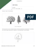 Como Desenhar Árvores