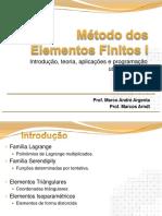 08 - Família de Elementos MEF