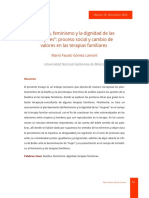 Bioetica Feminismo y La Dignidad de Las Mujeres