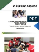 01 - Primeros Auxilios - Dr. Carlos Plasencia Meza