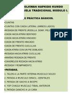 Seminario de Certificación de Hapkido Modulos i, II, III,