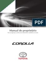 Manual Corolla 2016