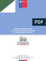Compendio de Normas Sanitarias Para Uso y Vigilancia de Trabajadores Expuestos a Plaguicidas