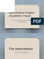 intervention project  inquiry and analytic skills