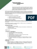 Convocatoria Auxiliar Apadrinamiento Jinotega 2017