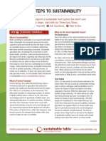three easy steps to sustainability ho 20090922