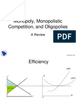 Competition and Oligopolies - Managerial Economics - Lecture Slides PDF
