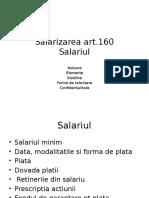 CURS VIII Salarizarea