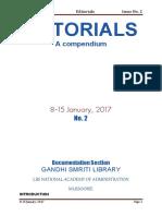 Editorial 8-15 January 2017