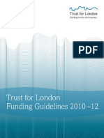 Tfl Funding Guidelines v8d Linked Contents